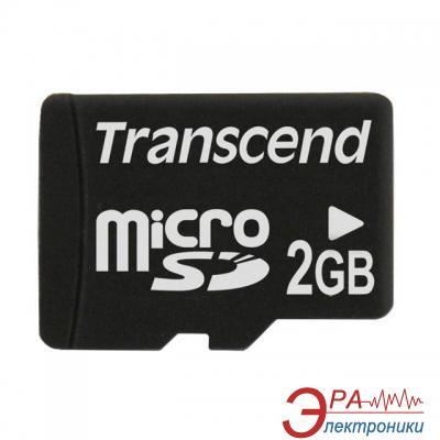 Карта памяти Transcend 2Gb microSD no adapter (TS2GUSDC)