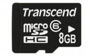 Карта памяти Transcend 8Gb microSD Class 6 no adapter (TS8GUSDC6)