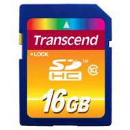 Карта памяти Transcend 16Gb SD Class 10 (TS16GSDHC10)