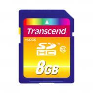 Карта памяти Transcend 8Gb SD Class 10 (TS8GSDHC10)