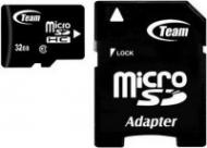 Карта памяти Team 32Gb microSD Class 10 +adapter (TG032G0MC28A)