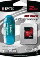 ����� ������ Emtec 2Gb SD 60x + Card Reader