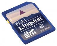 Карта памяти Kingston 8Gb SD Class 4