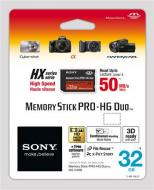 Карта памяти Sony 32Gb Memory Stick Pro Duo (MSHX32B)