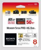 ����� ������ Sony 8Gb Memory Stick Pro Duo (MSHX8B)