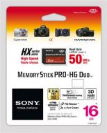 Карта памяти Sony 16Gb Memory Stick Pro Duo (MSHX16B)