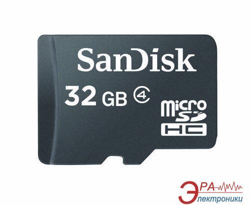 Карта памяти Sandisk 32Gb microSD Class 4 (SDSDQM-032G-B35)