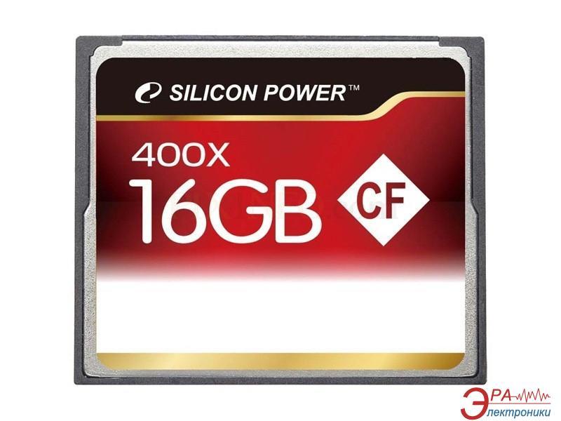 Карта памяти Silicon Power 16Gb Compact Flash 400x (SP016GBCFC400V10)