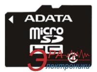 Карта памяти A-DATA 4Gb microSD Class 4 without adapter (AUSDH4GCL4-R)