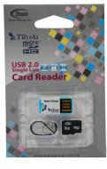����� ������ Team 8Gb microSD Class 4 + Reader TR11A1 (TUSDH8GCL405)