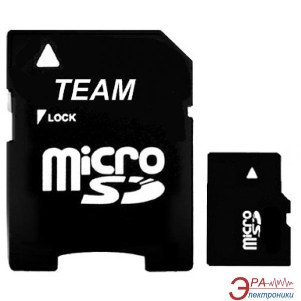 Карта памяти Team 1Gb microSD + adapter SD