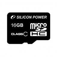 Карта памяти Silicon Power 16Gb microSD Class 10 no adapter