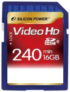 ����� ������ Silicon Power 16Gb SD Class 6 Full HD Video (SP016GBSDH006V30)