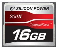 Карта памяти Silicon Power 16Gb Compact Flash 200x (SP016GBCFC200V10)
