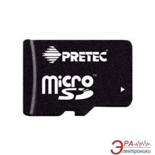 Карта памяти Pretec 16Gb microSD Class 2 + adapter (STY16G-SA)