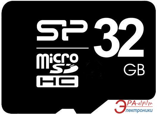 Карта памяти Silicon Power 32Gb microSD Class 6 no adapter (SP032GBSTH006V10)