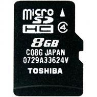 Карта памяти Toshiba 8Gb microSD Class 4 no adapter