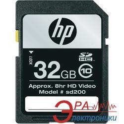 Карта памяти HP 32Gb SD Class 10 (SD32GBHC10HP-EF)