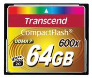 Карта памяти Transcend 64Gb Compact Flash 600x (TS64GCF600)