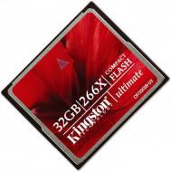 ����� ������ Kingston 32Gb Compact Flash 266x (CF/32GB-U2)