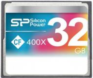 Карта памяти Silicon Power 32Gb Compact Flash 400x (SP032GBCFC400V10)