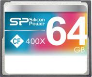 Карта памяти Silicon Power 64Gb Compact Flash 400x (SP064GBCFC400V10)
