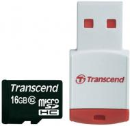 ����� ������ Transcend 16Gb microSD Class 10 (TS16GUSDHC10-P3)