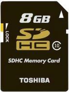 Карта памяти Toshiba 8Gb SD Class 10 black (SD-K08CL10(BL5)