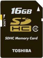 ����� ������ Toshiba 16Gb SD Class 10 black (SD-K16CL10(BL5)