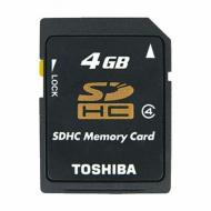 Карта памяти Toshiba 4Gb SD Class 4 (SD-K04GJ (BL3/SD-K04GJ(BL5)