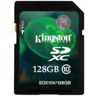 ����� ������ Kingston 128Gb SD Class 10 Value (SDX10V/128GB)