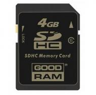 Карта памяти Goodram 4Gb SD Class 6 (SDC4GHC6GRR9)