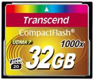 ����� ������ Transcend 32Gb Compact Flash 1000x (TS32GCF1000)