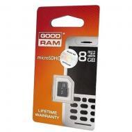 Карта памяти Goodram 8Gb microSD Class 4 no adapter RETAIL 10 (SDU8GHCGRR10)
