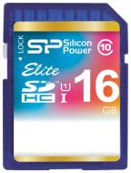 Карта памяти Silicon Power 16Gb SD Class 10 (SP016GBSDHAU1V10)