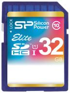 Карта памяти Silicon Power 32Gb SD Class 10 (SP032GBSDHAU1V10)