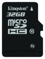 Карта памяти Kingston 32Gb microSD Class 10 (SDC10/32GBSP)