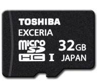 Карта памяти Toshiba 32Gb microSD Class 10 UHS-I EXCERIA no adapter (SD-CX32HD(BL7)