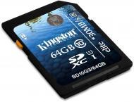 Карта памяти Kingston 64Gb SD Class 10 UHS-I Elite (SD10G3/64GB)