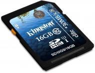 Карта памяти Kingston 16Gb SD Class 10 UHS-I Elite (SD10G3/16GB)