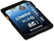 Карта памяти Kingston 8Gb SD Class 10 UHS-I Elite (SD10G3/8GB)