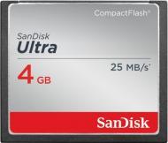 ����� ������ Sandisk 4Gb Compact Flash 333x Ultra (SDCFHS-004G-G46)
