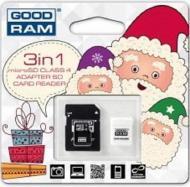 ����� ������ Goodram 4Gb microSD Class 4 Xmas pack (USDR44GBR9+X)