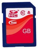 Карта памяти Team 32Gb SD Class 10 (TSDHC32GCL1001 / TG032G0SD2)