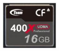 Карта памяти Team 16Gb Compact Flash 400x (TG016G2NCFDX)