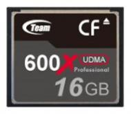 Карта памяти Team 16Gb Compact Flash 600x (TCF16G60001)