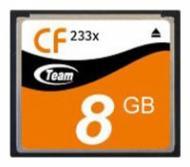 ����� ������ Team 8Gb Compact Flash 233x (TG008G2NCFJX)