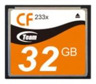 Карта памяти Team 32Gb Compact Flash 233x (TCF32G23301)