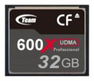 Карта памяти Team 32Gb Compact Flash 600x (TCF32G60001)