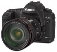 Зеркальная фотокамера Canon EOS 5D Mark II + объектив EF 24-105 Black